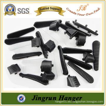 China Fabricación de suspensión de plástico Calidad Anti-slip Hanger Chip