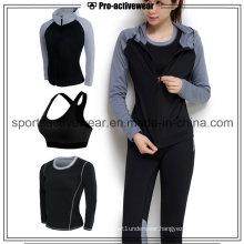 OEM High Qualiity Low MOQ Wholesale Quick Dry Women Sport Wear Suit