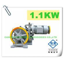 100KG 1.1 kW máquina do elevador monta-cargas