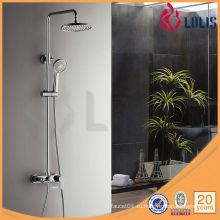 Ванная комната фарфора санитарно-латунный душ набор смеситель (LLS-5848)