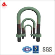 custom high strength rubber coated u bolt