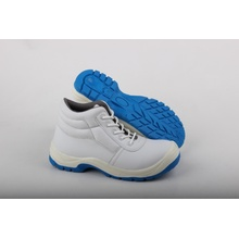 White Nurse and Food Working Boots with Blue TPU Outsole