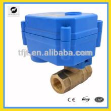 Батареи dc3-6В,12В CWX15Q небольшой моторизованный клапан для малых аппаратура для автоматического регулирования