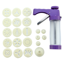 Stainless Steel ABS Cookie Stamp Gun set