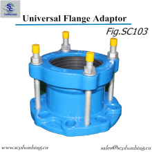 Wide Range Ductile Iron Flange Adaptor for Di Pipe