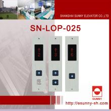 Кабина кабины лифта с различным дисплеем (SN-LOP-025)