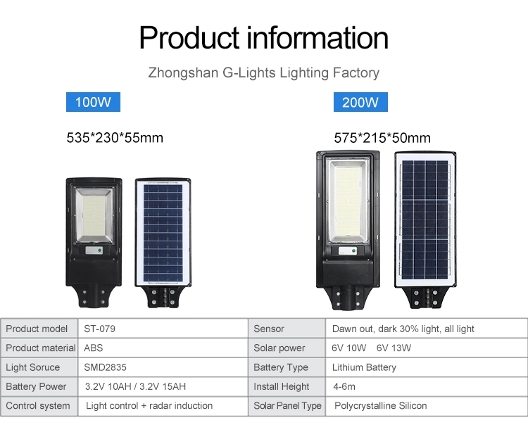 G Lights Solar Street Light 4