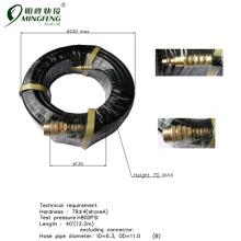 Garantierte Qualität Niedriger Preis Zoll PVC-Schläuche