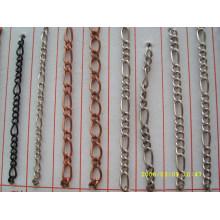 china chain supplier wholesale fashion design silver metal chain for bag handbag