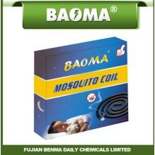 Incienso repelente de mosquitos negro Baoma de venta caliente de 12 horas