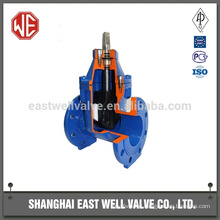 Flat plate solenoid gate valves