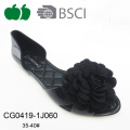 2017 Fancy Ladies Flower Jelly Chaussures Sandales