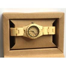 Rade Assurance W00-Dr Men′s Wristwatches Vintage Wood Deer Head Designer Bamboo Wood Wristwatches Wooden Watches Men