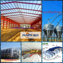 Steel Construction with Full Set Equipment in Poultry House