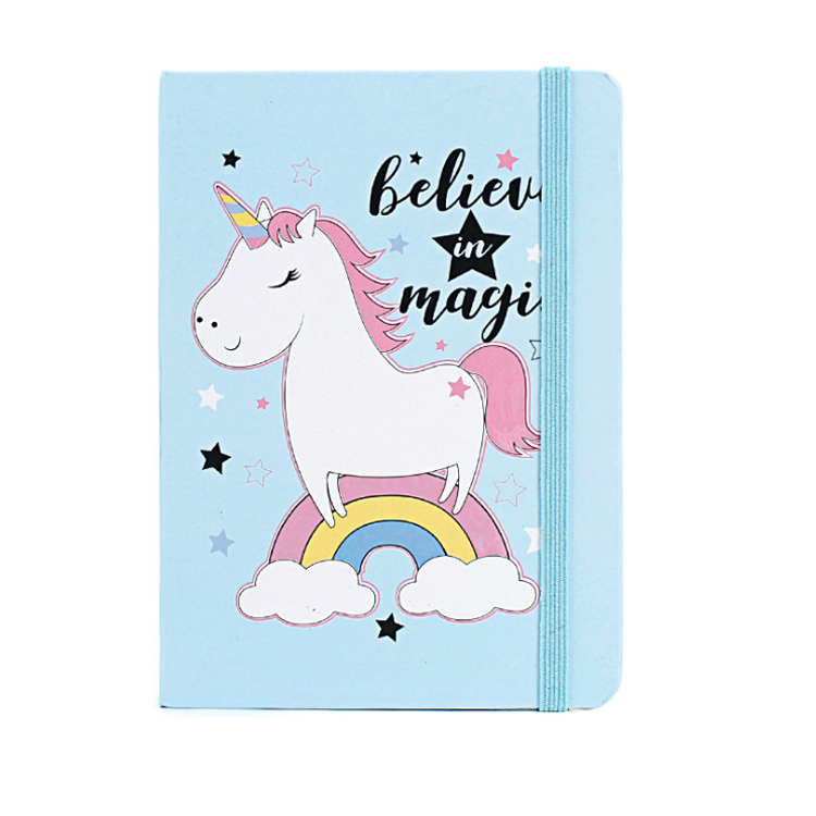 Sketchbook Stationery Agenda Writing Pockets Book Blank Travel Journal Gift Cute Diary Notebook