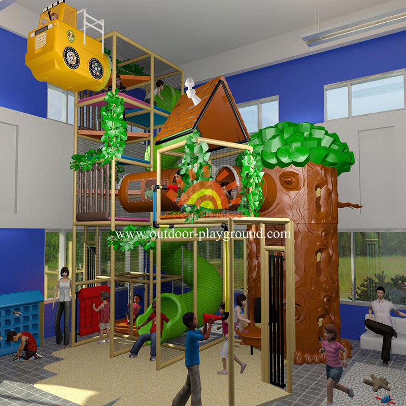 Forest Themed Indoor Playground