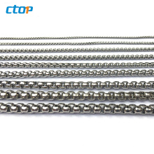 Guangzhou supplier custom fashion gold plated for decorative wholesale bag chain metal chain custom bag chain
