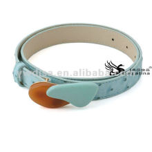 Womens PU Resin Belts With No Metal Buckles Size 2.5*83cm BC4341-2