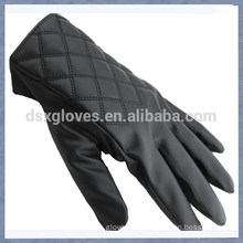 Promotional Touch Glove Leather Touch Glove With Square For Men