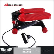 Красный цвет мини Твист-Степпер тренажер (ЭС-015)