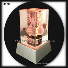 sala de patriotas del laser 3d fama grabado recuerdos de cristal