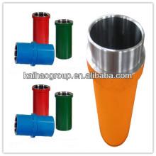 Cylindre hydraulique standard API pour les pièces de fin de fluide de pompe à boue