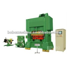 Pneumatic press punch feeder machine