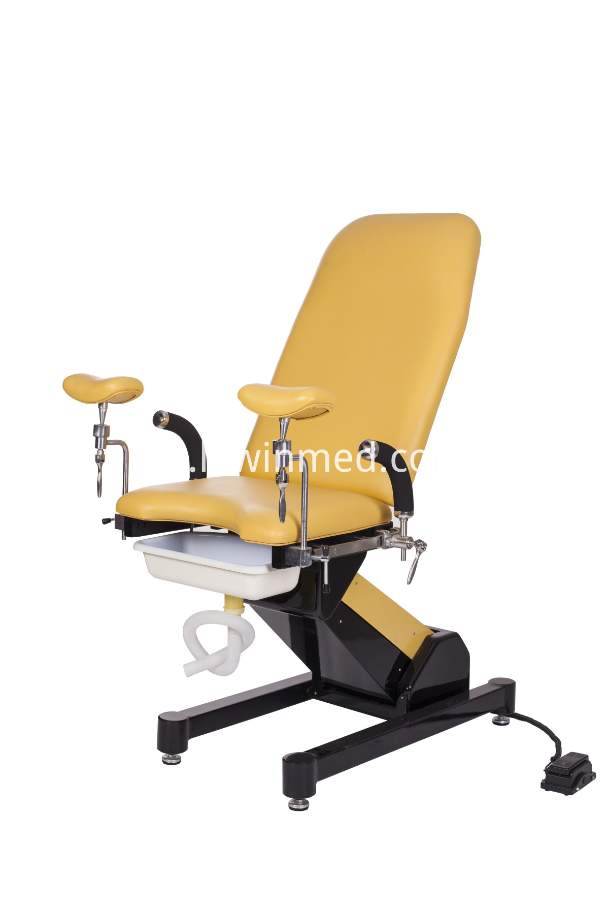Electric gynecological examination bed