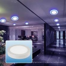 Projecteur de LED / lumière ronde ultra mince de panneau de LED / lumière vers le bas