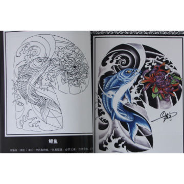 The Professional Tattoo Designs Book for Promotion