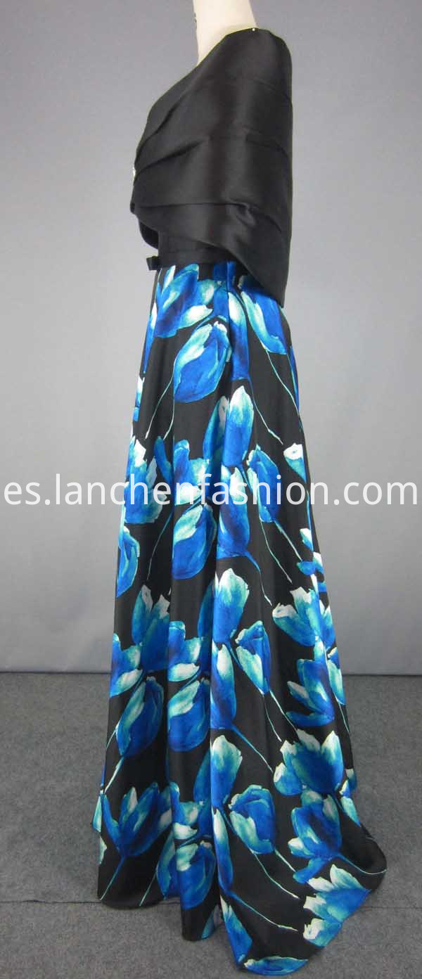 Two Piece Dress Long
