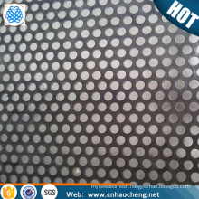 2mm thick hastelloy perforated metal screen sheet