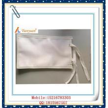 Tecido tecido filtro saco para galvanoplastia para separação de sólidos e líquidos