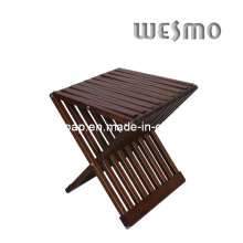 Silla plegable de madera del cuarto de baño (WRW0507B)