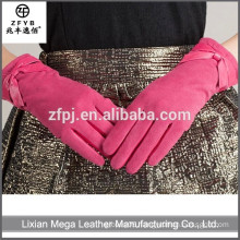 New design fashion low price Cheap Faux Leather Gloves