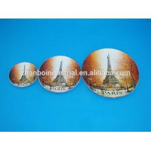 Cheap custom porcelain decorative plate