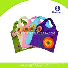 Custom new design cheap reusable foldable shop bag