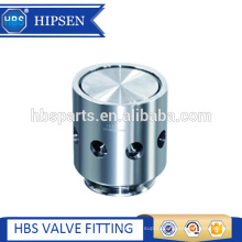 Sanitary stainless steel quick air release valve