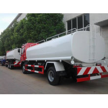 China fabricação 15cbm JAC água tanque venda de caminhões no Gabão