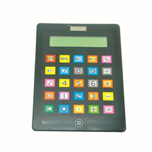 Flat IPad Shaped Calculator with Touch Screen