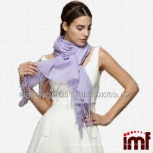 O lenço 100% da senhora da fonte da fonte dobrou as lãs 2014 do lenço do cachecol quente quente das mulheres do hijab