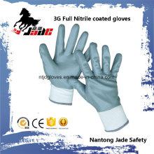 13G Full Gary Nitrile Smooth Coated Glove