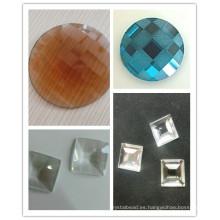 Nuevo 2016 China Flat Back Glass Beads Piedras Diamantes Strass