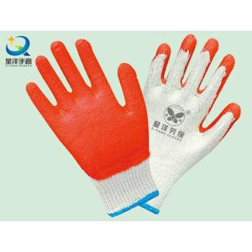 Латексные перчатки с лаковым покрытием, гладкая отделка