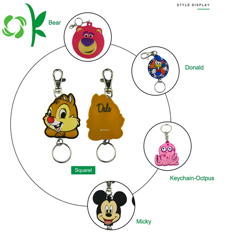 PVC keychain for gift