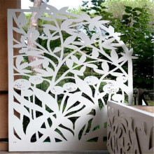 Privasi Laser Cutting Metal Screen