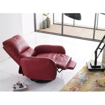 Натуральный кожаный кожаный диван для дивана (737)