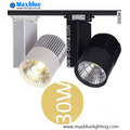 30W High CRI Commercial Industry Track Lighting for Shops