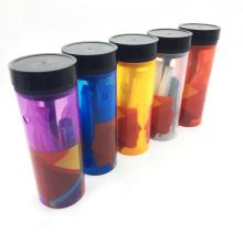 Мини портативный пластиковые бутылки кальян кальян с аксессуарами (ЭС-СС-004)