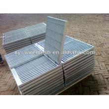Решетка из оцинкованной стали, решетка из оцинкованной стали, решетчатая решетка, траншейная решетка, стальная решетка